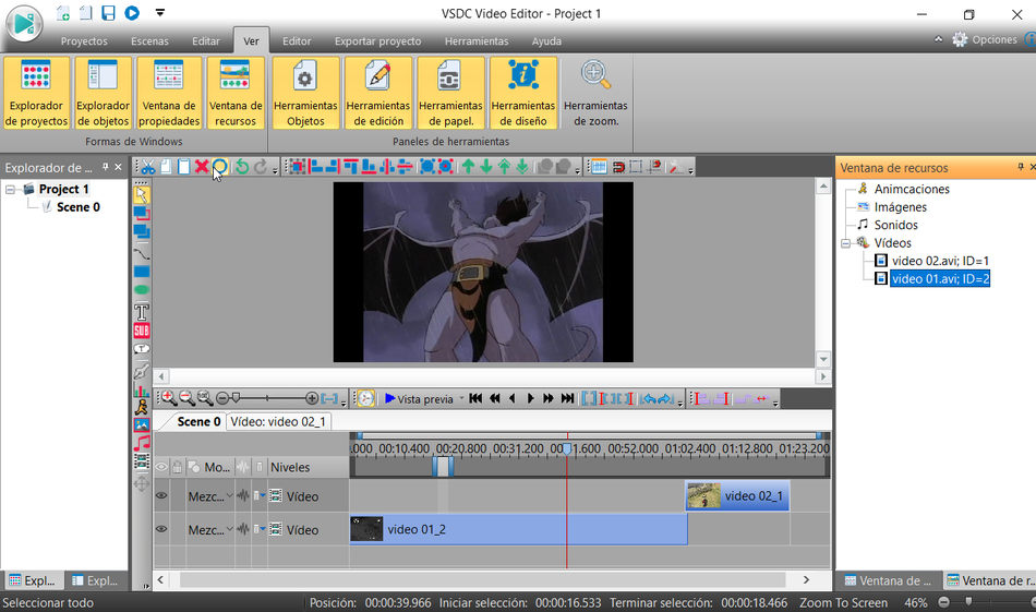 VSDC editor de video gratuito