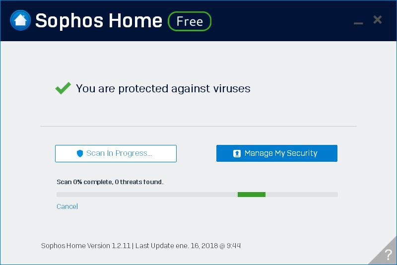 Sophos Home Antivirus