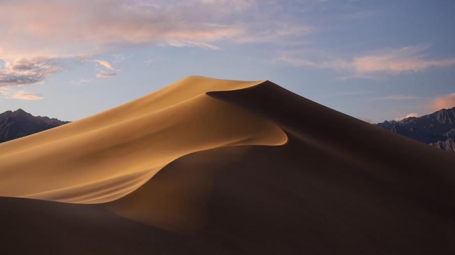 Wallpaper macOS Mojave Day 4k