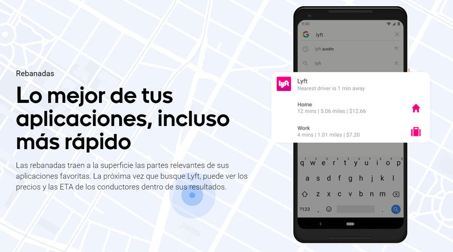 Slices en Android 9.0