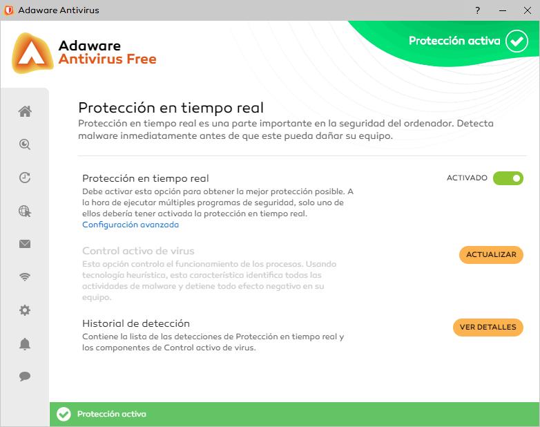 Adaware protección en tiempo real